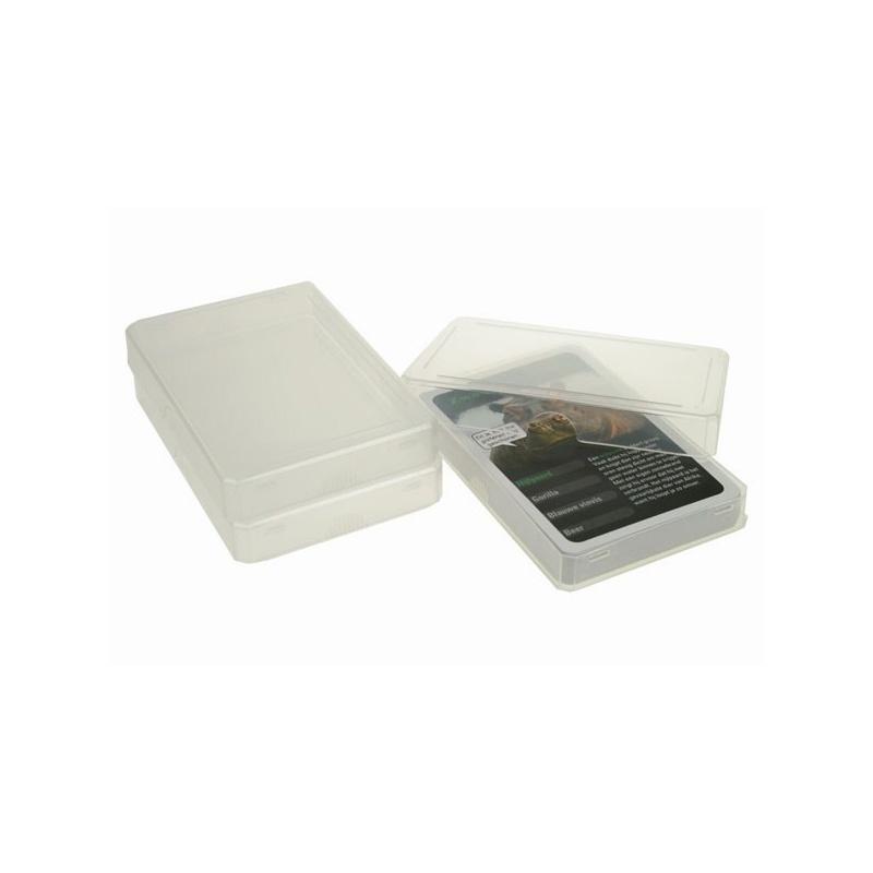 Transparant speelkaartendoosje for Plastic doosjes