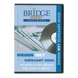 CD-rom Bieden met vijfkaart hoog