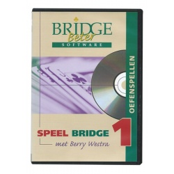 Speel Bridge 1 oefenspellen - met Berry Westra (cd-rom)