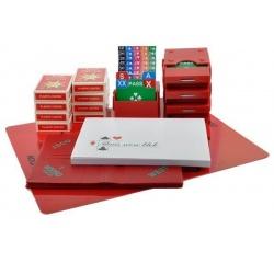 Startpakket Bridge met mapjes - Rood