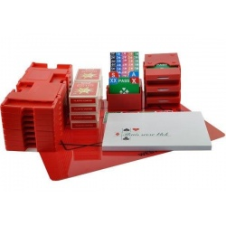 Bridgepakket met boards - rood