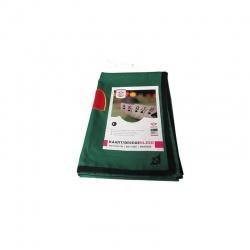 Kaartkleed groen formaat 120 x 180 cm.