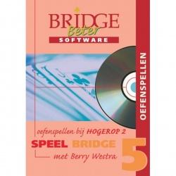Speel bridge met Berry Westra oefenspellen 5 CD-ROM