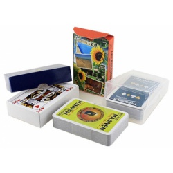 50 bedrukte speelkaarten