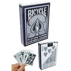 "Bicycle 1128 ""Black Silver"""