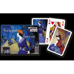 "Piatnik ""Paris by Night"" speelkaartenset"